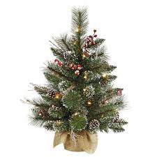 White Christmas Tree With Black Decorations Tabletop Christmas Trees Tips And Advice In Home Grown At
