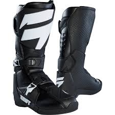 black motocross boots shift mx boots whit3 black 2018 maciag offroad