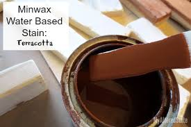 Minwax Water Based Stain With Minwax Water Based Wood Stain After by How To Paint Wood To Look Like Brick My Altered State