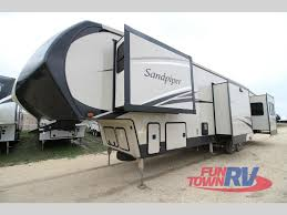 sandpiper travel trailer floor plans new 2017 forest river rv sandpiper 389rd fifth wheel at fun town