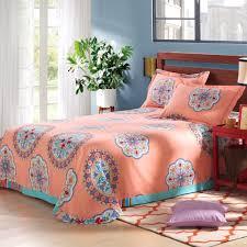 girls cotton bedding bedding modern pink flower bedding set teens cotton twin full
