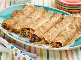 turkey and spinach taquitos recipe giada de laurentiis food