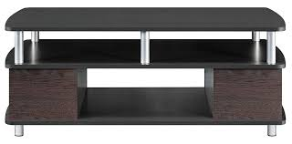 amazon com ameriwood home carson coffee table cherry black