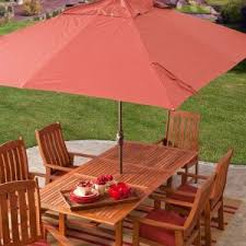 5 Foot Umbrella Patio Exterior Picnic Time 5 Ft Patio Umbrella In Navy Color Option For