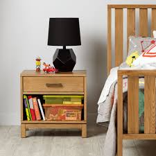 Natural Nightstand Cargo Nightstand Charcoal The Land Of Nod
