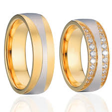 mens infinity wedding band aliexpress buy 1 pair luxury vintage gold color alliances