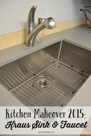 Faucets For Kitchen Sinks Kitchen Makeover 2015 Kraus Sink U0026 Faucet My Creative Days