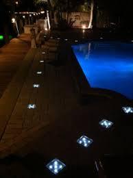 lighting around pool deck solar paver led light hornerxpress worldwide