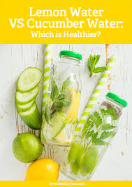 lemon water vs cucumber water which is healthier healthy hints