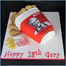 kfc cake cake by michelebakescakes cakesdecor