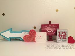 valentine decor the wood connection giveaway the potter u0027s place