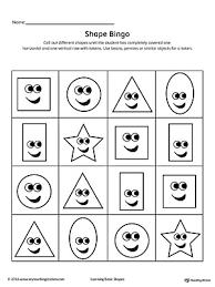 kindergarten shapes printable worksheets myteachingstation com