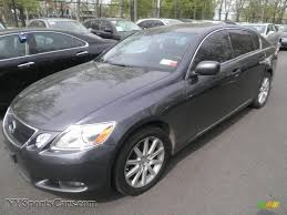 black lexus 2006 2006 lexus gs 300 in flint gray mica 045096 nysportscars com