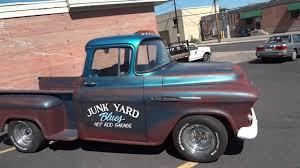 Classic Chevy Trucks 1956 - 1956 chevrolet custom big window short bed stepside pickup for