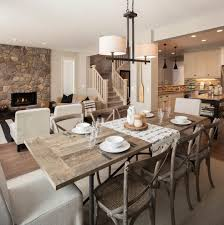 modern rustic dining rooms living room dining room combo simple