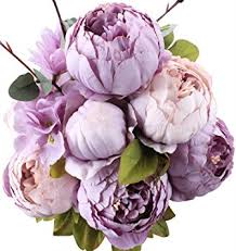 artificial peonies duovlo flowers vintage artificial peony silk