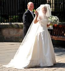 display wedding dress zara phillips wedding dress to go on display with other