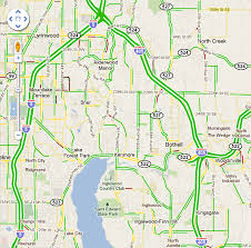 seattle map traffic real time traffic map go bothell bothell wa guide business
