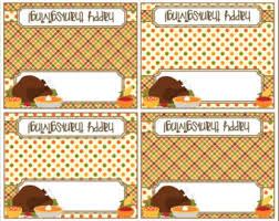 thanksgiving blank labels cards turkey cards printable