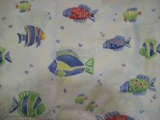 pottery barn kid submarine crib sheet fish toddler bed nautical