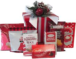 Holiday Food Baskets Holiday Gift Baskets Free Canada Wide Shipping The Sweet Bonbon