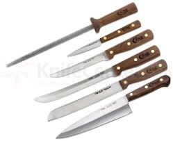 case 7 piece household cutlery block set knifecenter 07249