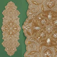 hand beaded table runners bermuda linens gifts pertaining to beaded table runners plans 2