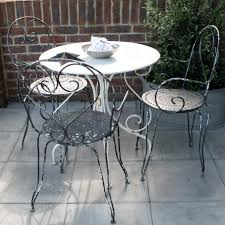 Metal Garden Table And Chairs Uk Vintage French Bistro Set Www Designvintage Co Uk Porches