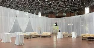 pipe and drape kits pipe drape 12 foot sheer wall kit rentals chicago il where to