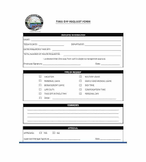 leave forms template sample medical leave form 13 download free