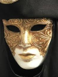 mens venetian mask mens masquerade mask three mask mardi gras mask by 4everstore