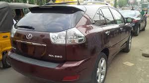 price of lexus rx 350 nairaland lexus rx350 2008model fullest option autos nigeria