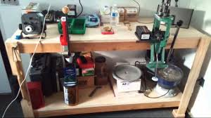 Setting Up A Reloading Bench Tmach U0027s Reloading Bench Set Up Ready To Rock Youtube