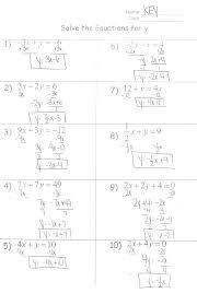 absolute value equations worksheet algebra 2 worksheets