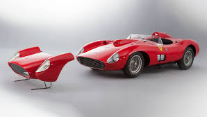 most expensive car ever sold this 1957 ferrari 335 just became the most valuable car ever sold