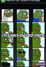 Meme Trash - m a piece of trash meme