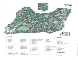 La Salle Campus Map Summer 2015 Welcome Packet By Lasell College Issuu