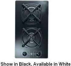 2 Burner Cooktop Electric Verona Ctgg212fw Sealed Burner Gas Cooktop With 2 Burners 12