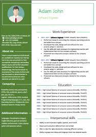 exle cv resume resume templates resume exles or cv template free