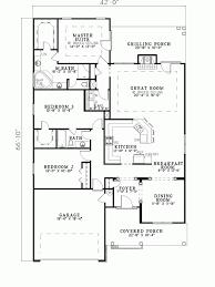 apartments narrow floor plans howard lake narrow lot home plan d