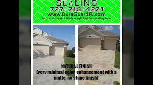 Sealing A Paver Patio by Different Brick Paver Sealer Finishes Available Natural Wet Look