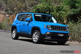 mitsubishi jeep 2016 2016 jeep renegade longitude review video performancedrive
