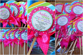 candyland theme paperoo invites lollipop shaped invitations for candyland theme party