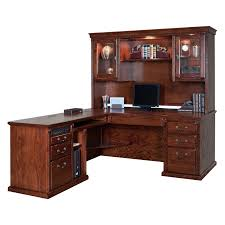 Solid Wood L Shaped Desk Superb Executive L Shaped Desk Solid Wood Construction Mahogany
