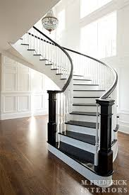 Winding Staircase Design Winding Staircase Traditional Entrance Foyer M Frederick
