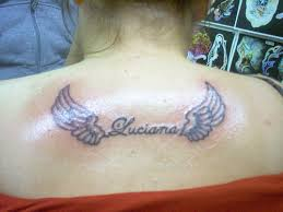 with name and wings lettering ideas quotes