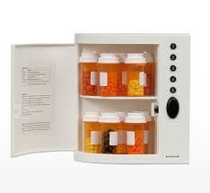 locking medication cabinet 17 with locking medication cabinet