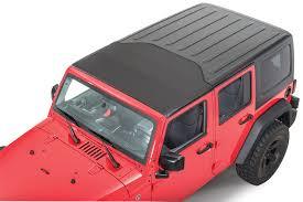 jeep soft top open bestop 52450 35 sunrider for hardtop in black diamond for 07 18