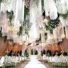 roof decorations wedding chandelier decorations wedding tassel curtain chandelier