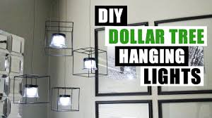 diy dollar tree hanging lights dollar store diy pendant lighting